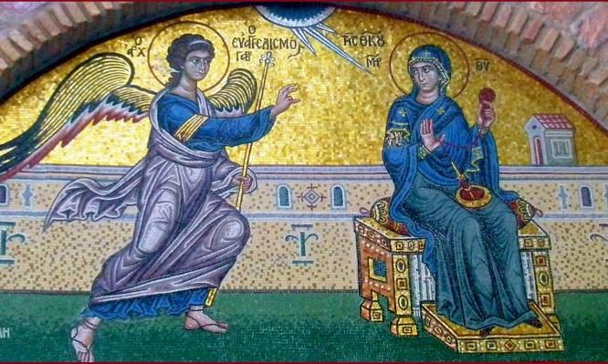 Τι ακριβώς βλέπουμε στην εικόνα του Ευαγγελισμού της Θεοτόκου;