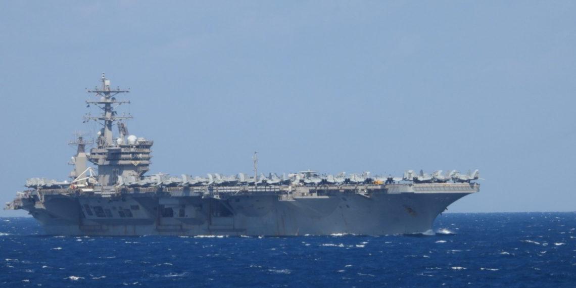 Στην Κρήτη το αμερικανικό αεροπλανοφόρο Eisenhower [vid]