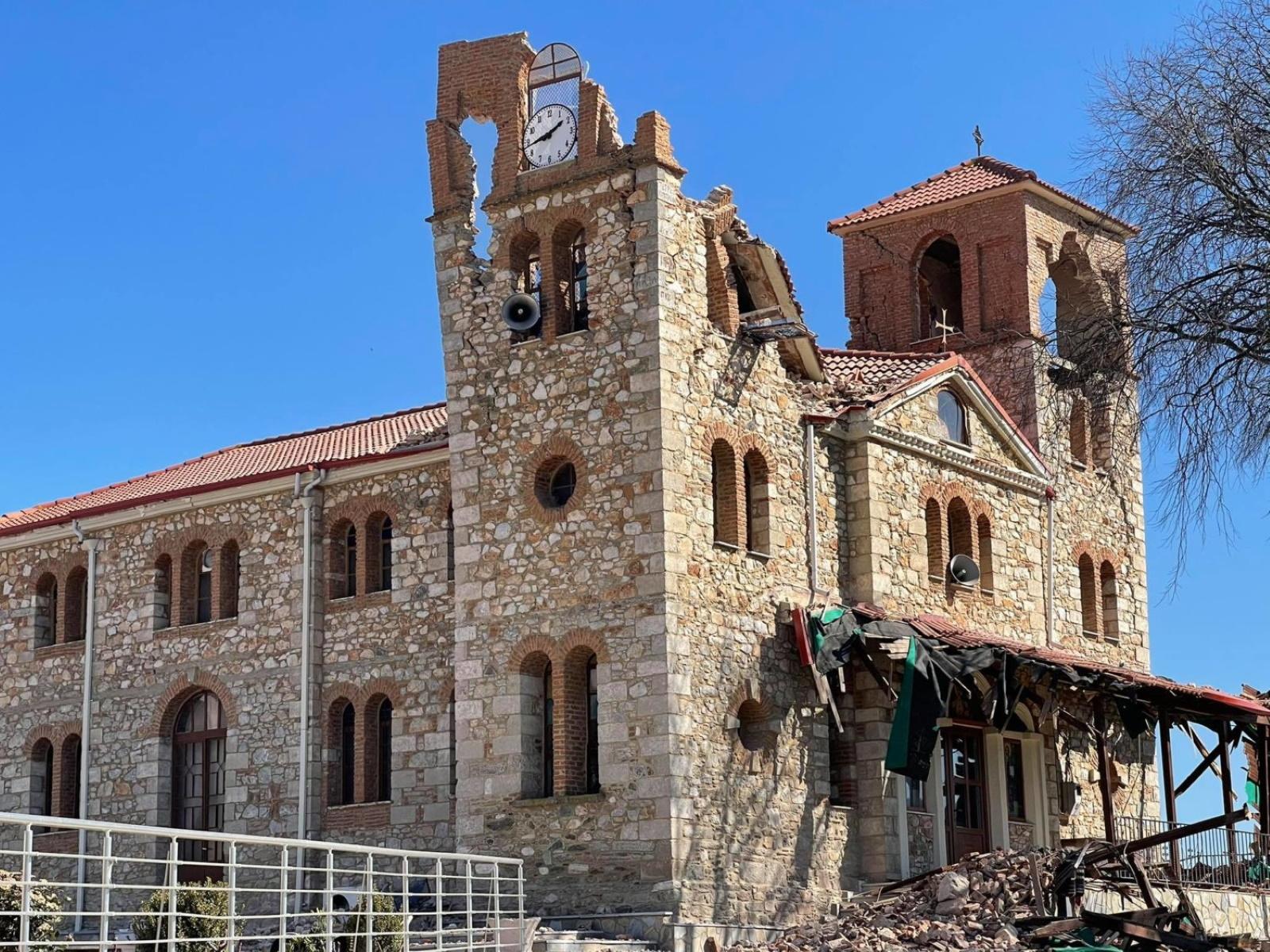 Σεισμός στην Ελασσόνα: Ενεργοποιήθηκε το Γενικό Σχέδιο «Εγκέλαδος»