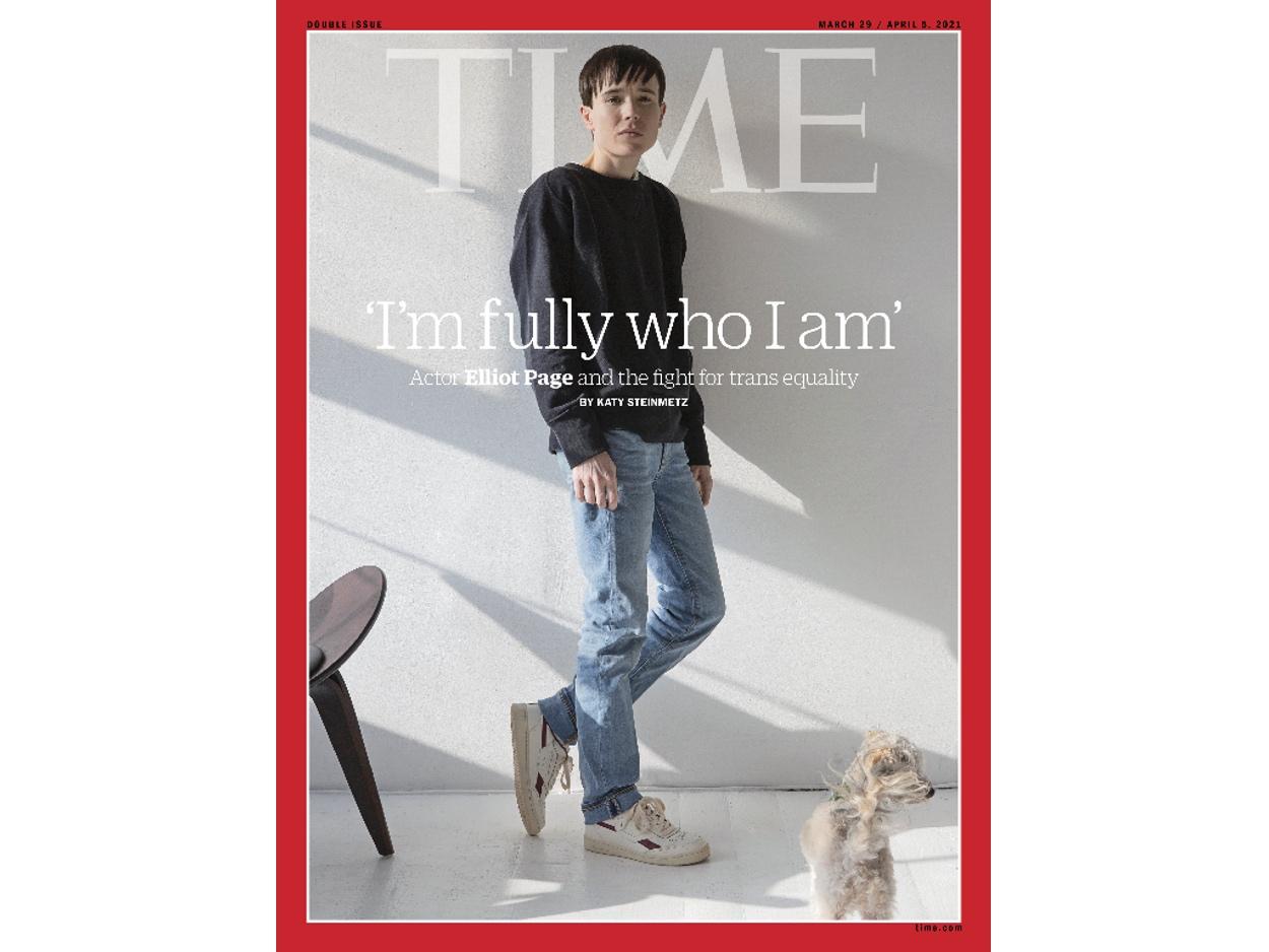 Εξώφυλλο στο Time ο Έλιοτ Πέιτζ, ο πρώτος τρανς άνδρας