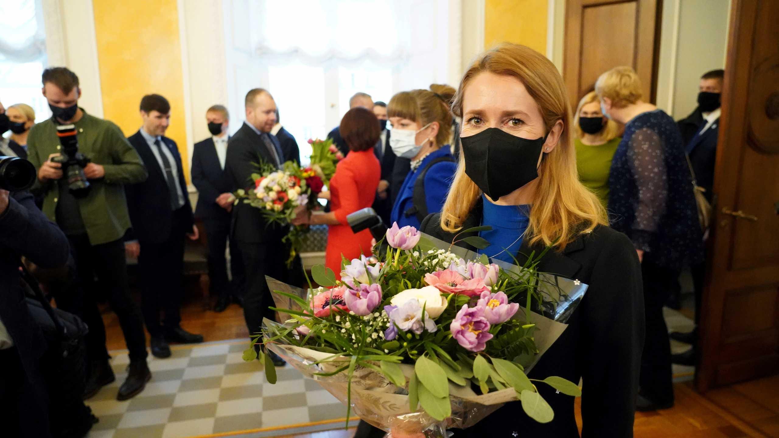 Κάγια Κάλας: Θετική στον κορονοϊό η πρωθυπουργός της Εσθονίας