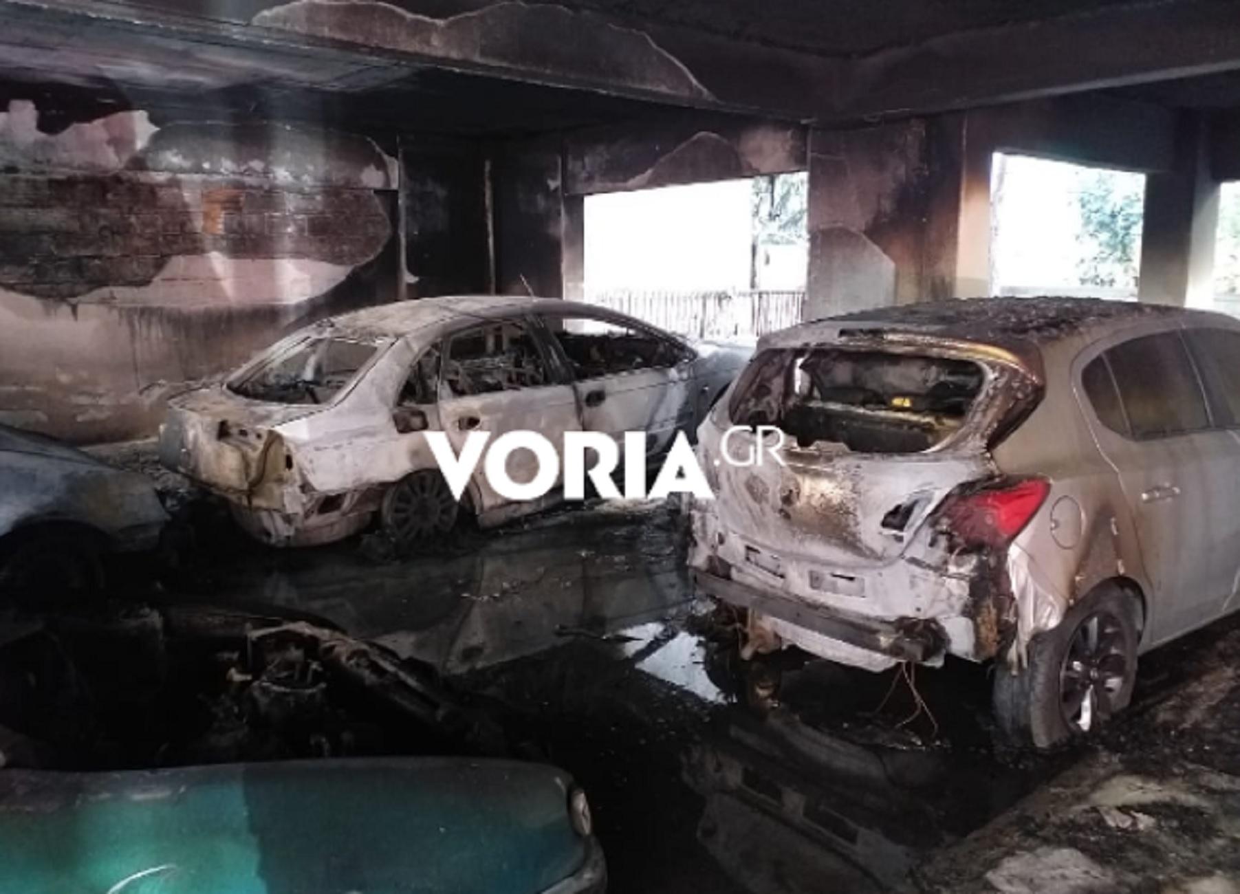 Θεσσαλονίκη: «Θα καιγόμασταν όλοι ζωντανοί» – Νέες εικόνες και συγκλονιστικές μαρτυρίες ενοίκων της φλεγόμενης πολυκατοικίας (video)