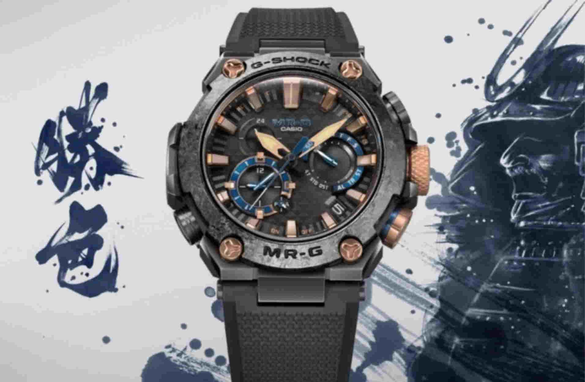 Δύο πανέμορφα ρολόγια από την G-Shock με έμπνευση τις στολές των Σαμουράι