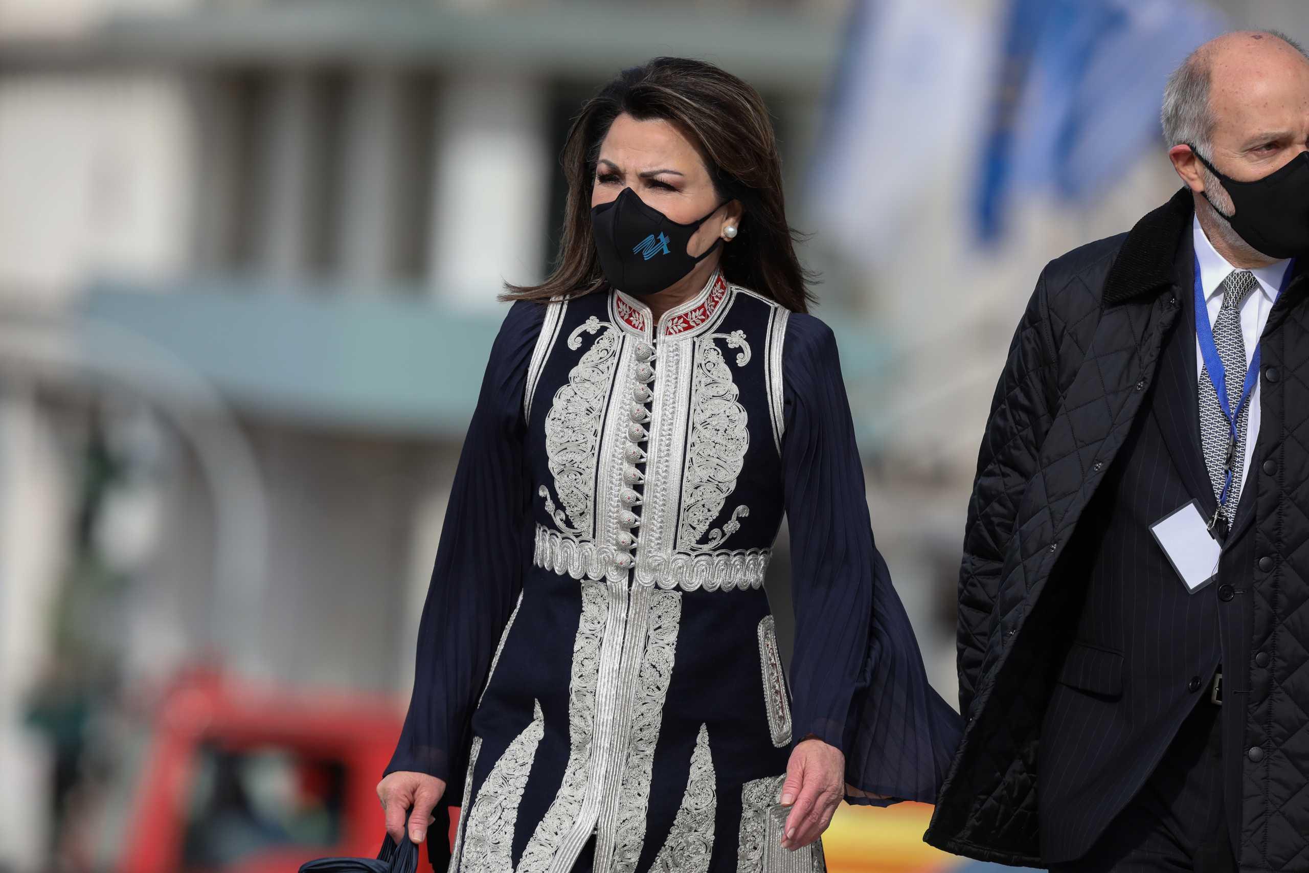 Η Γιάννα Αγγελοπούλου δημοσίευσε οικογενειακές φωτογραφίες από την 25η Μαρτίου