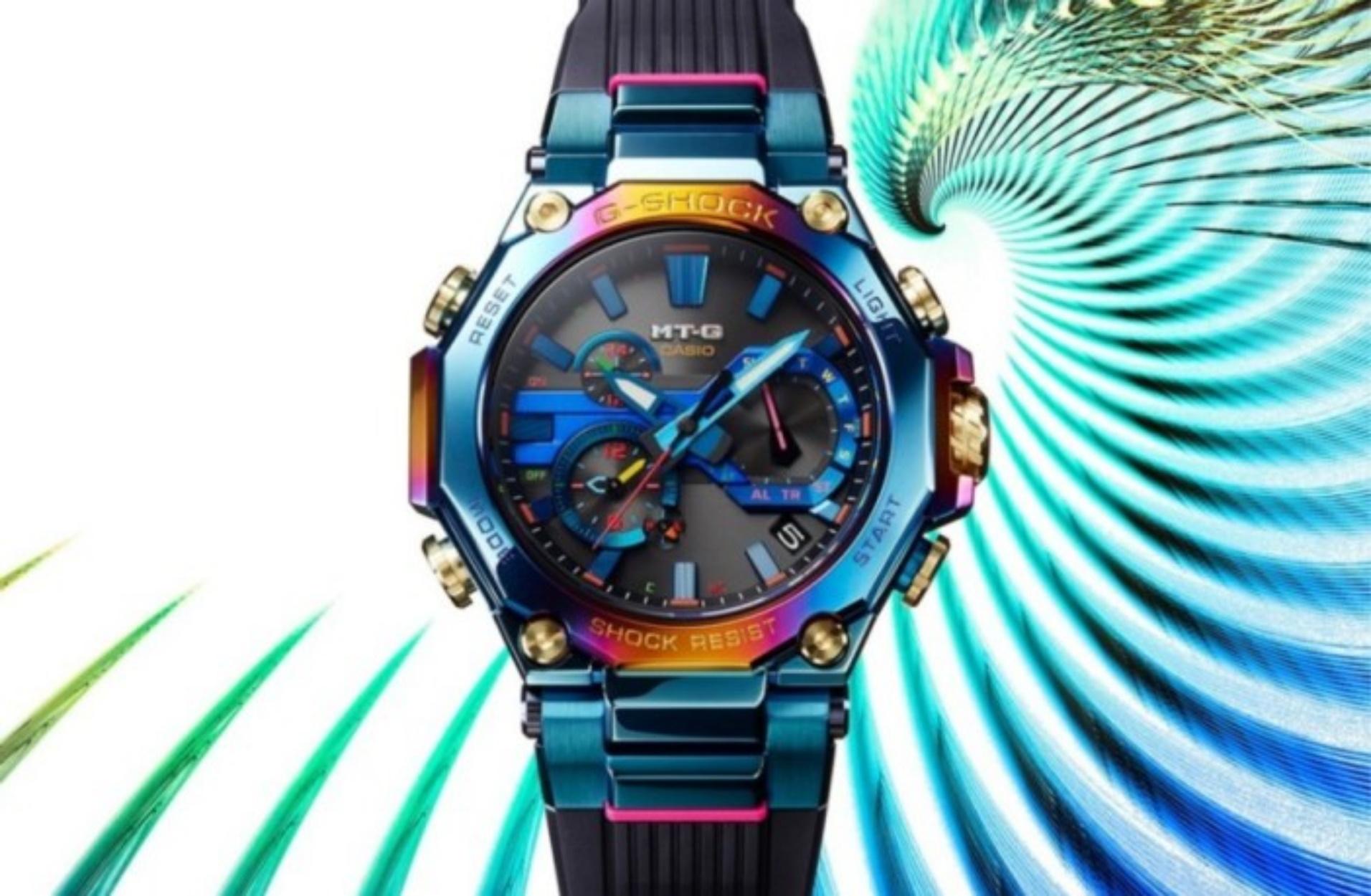 Δείτε το πολύχρωμο ρολόι που πρόκειται να κυκλοφορήσει τον Ιούνιο η G-Shock