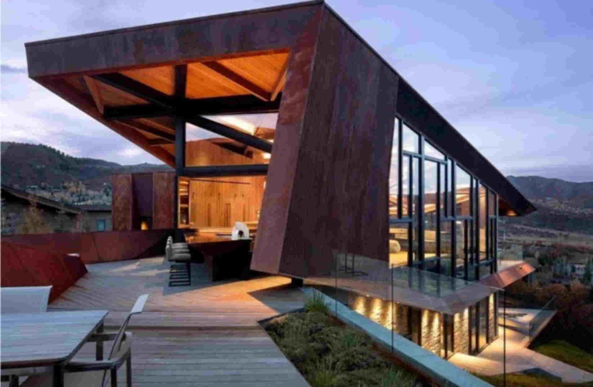 Owl Creek: Η ξύλινη κατοικία που θα θέλαμε να περάσουμε όλο το 2021!