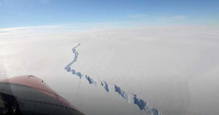 Ανταρκτική: Αποκολλήθηκε παγόβουνο – μαμούθ, μεγαλύτερο και από τη Νέα Υόρκη