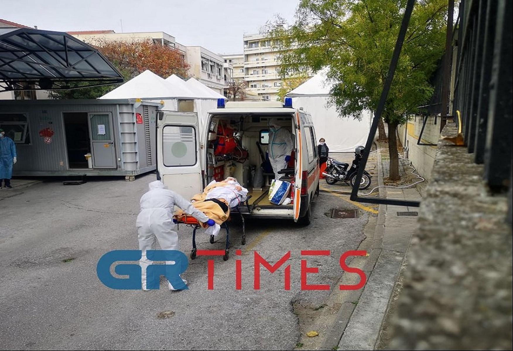 Θεσσαλονίκη: Εκτοξεύθηκαν οι εισαγωγές στο Ιπποκράτειο – Άνοιξαν πάλι οι ΜΕΘ covid