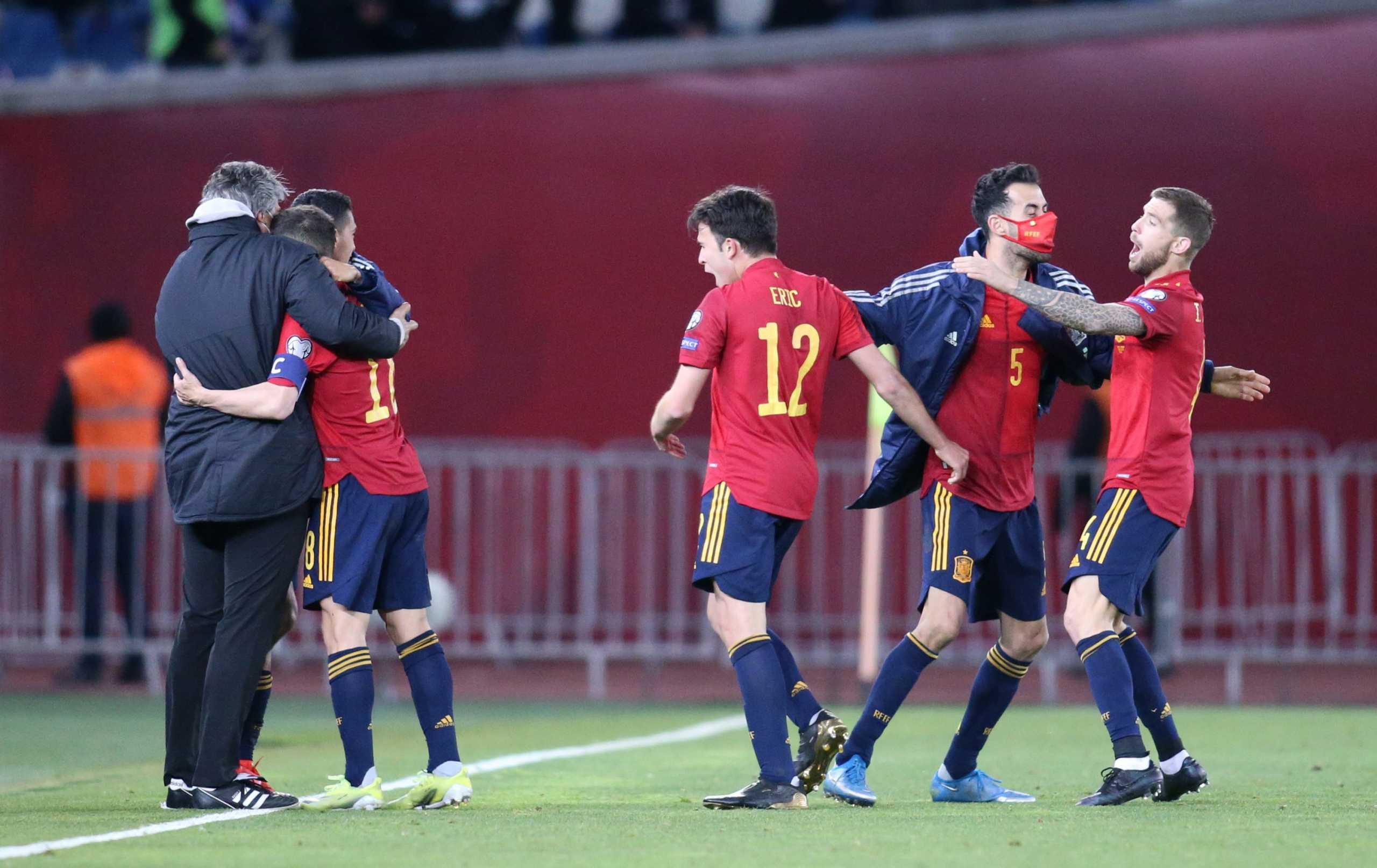 Προκριματικά Μουντιάλ: Λύτρωση στο 92′ για Ισπανία, η βαθμολογία στον όμιλο της Εθνικής Ελλάδας (video)