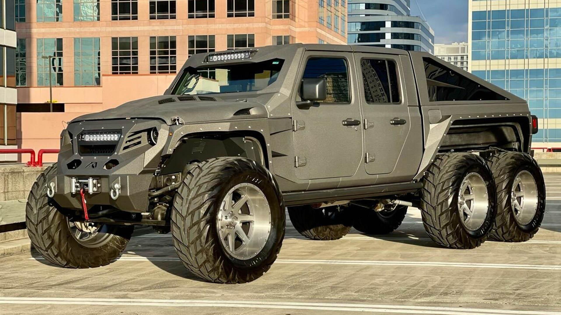 Ένα Jeep για την ημέρα της Αποκάλυψης! (pics)