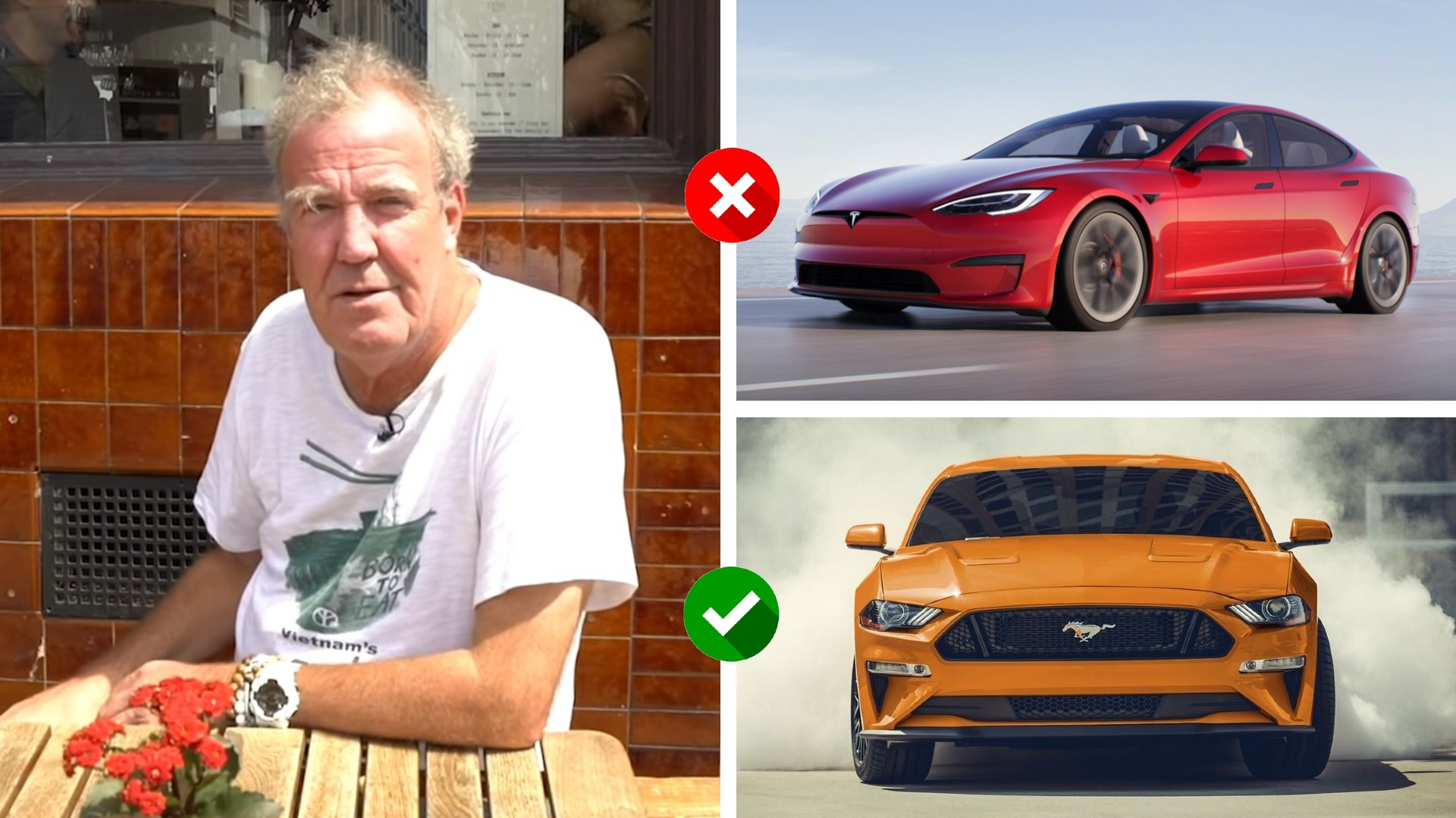 Jeremy Clarkson: O εκκεντρικός παρουσιαστής ρίχνει άκυρο στα ηλεκτρικά αυτοκίνητα! [vid]