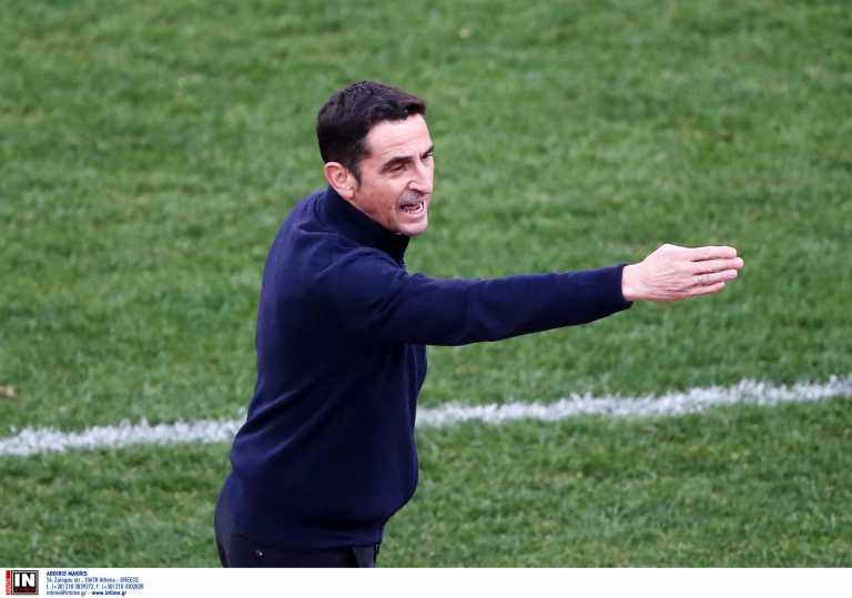 ΑΕΚ: «Τυχερός ο αντίπαλος που δεν έχανε 4-0 στο ημίχρονο» δήλωσε ο Χιμένεθ