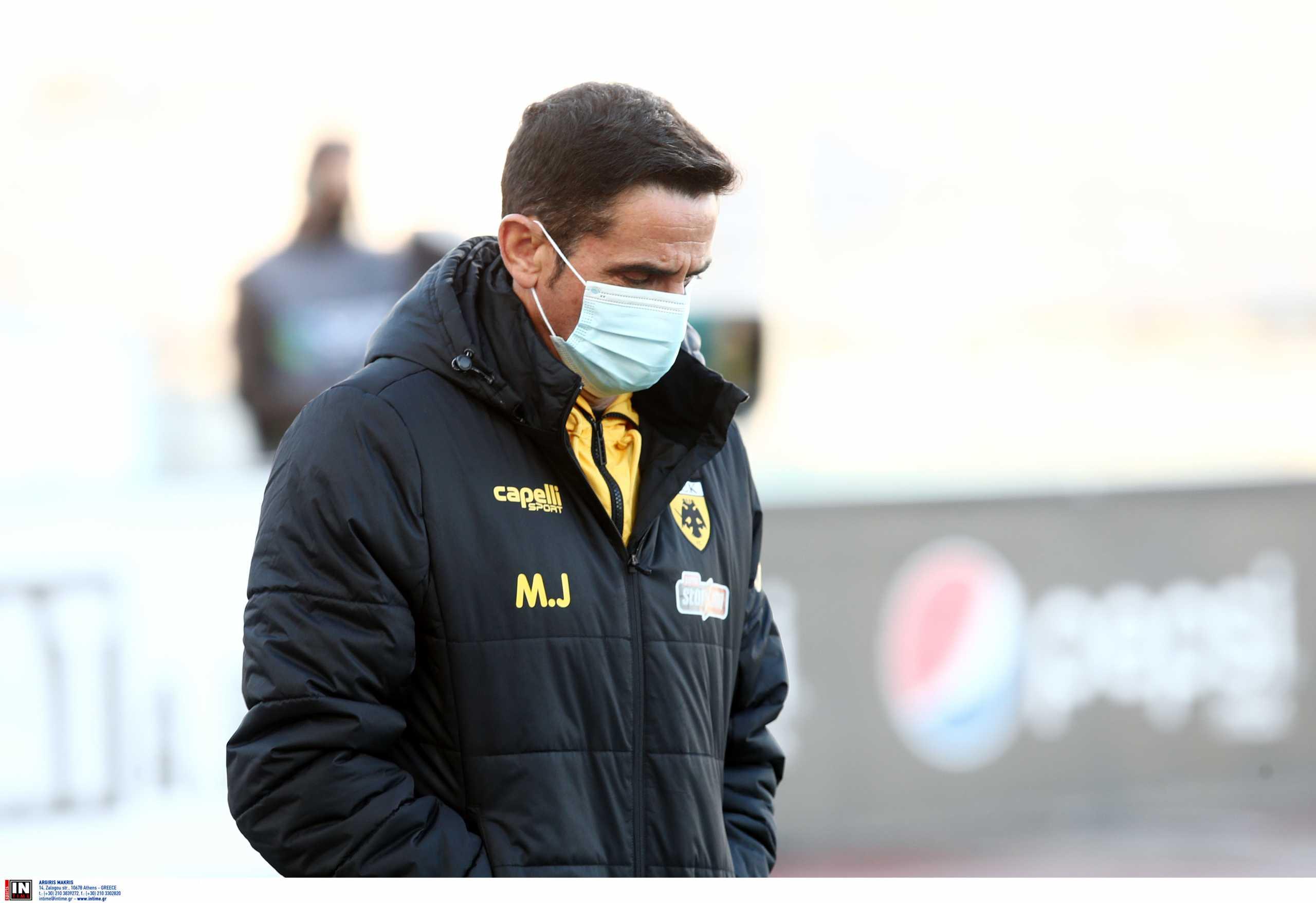 ΑΕΚ: «Ήθελα σε 4 φάσεις να βάλουμε 2 γκολ» τόνισε ο Χιμένεθ