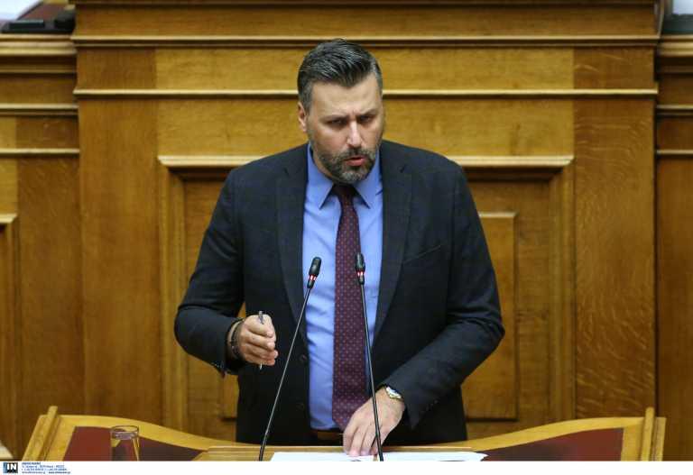 Ηλιόπουλος: Να αποδοκιμάσει ο Μητσοτάκης τον Καλλιάνο