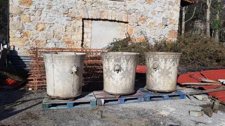 Τατόι: Εντοπίστηκε και το χαμένο κασπώ των ανακτορικών κήπων (pics)