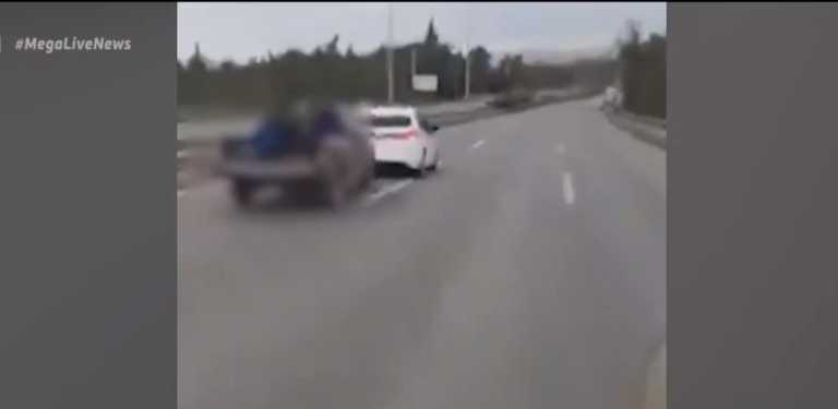 Θεσσαλονίκη: Βίντεο ντοκουμέντο από κινηματογραφική καταδίωξη – Εμβόλισαν περιπολικό