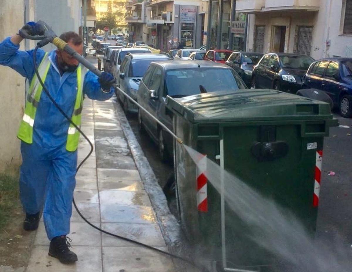 Δήμος Αθηναίων: Κυριακάτικη καθαριότητα στην Κυψέλη – «Τώρα που είναι πιο αναγκαία από ποτέ» (pics)