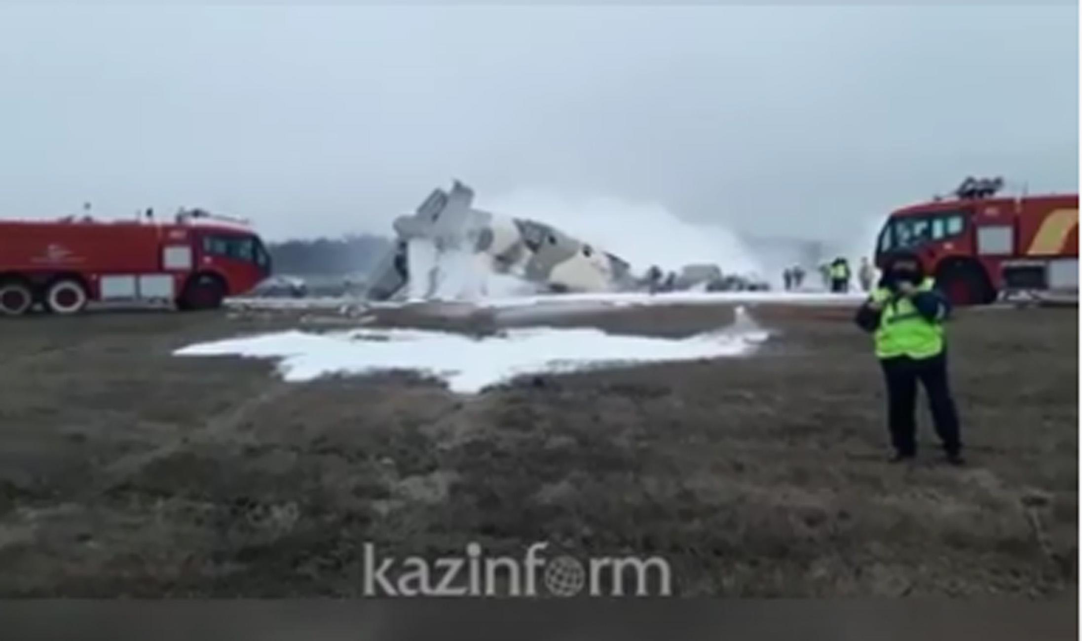 Τραγωδία στο Καζακστάν: 4 νεκροί μετά από συντριβή αεροσκάφους
