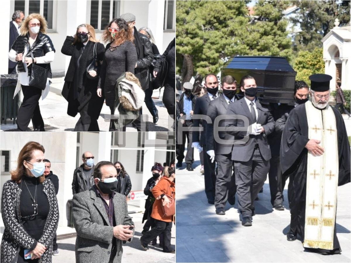 Θεόφιλος Βανδώρος: Θλίψη στην κηδεία του ηθοποιού (pics)