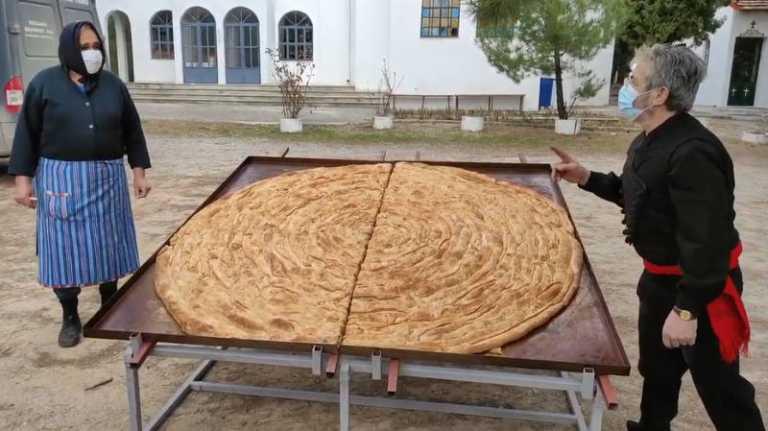 Κοζάνη: Έφτιαξαν το μεγαλύτερο κιχί και κέρδισαν από την επιτροπή Γκίνες το βραβείο Μισελέν (video)