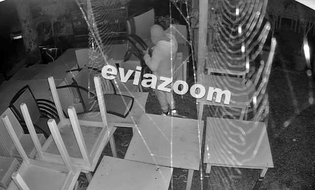 Χαλκίδα: Βούτηξε ακόμα και τις καρέκλες της ψαροταβέρνας – Δείτε το βίντεο ντοκουμέντο