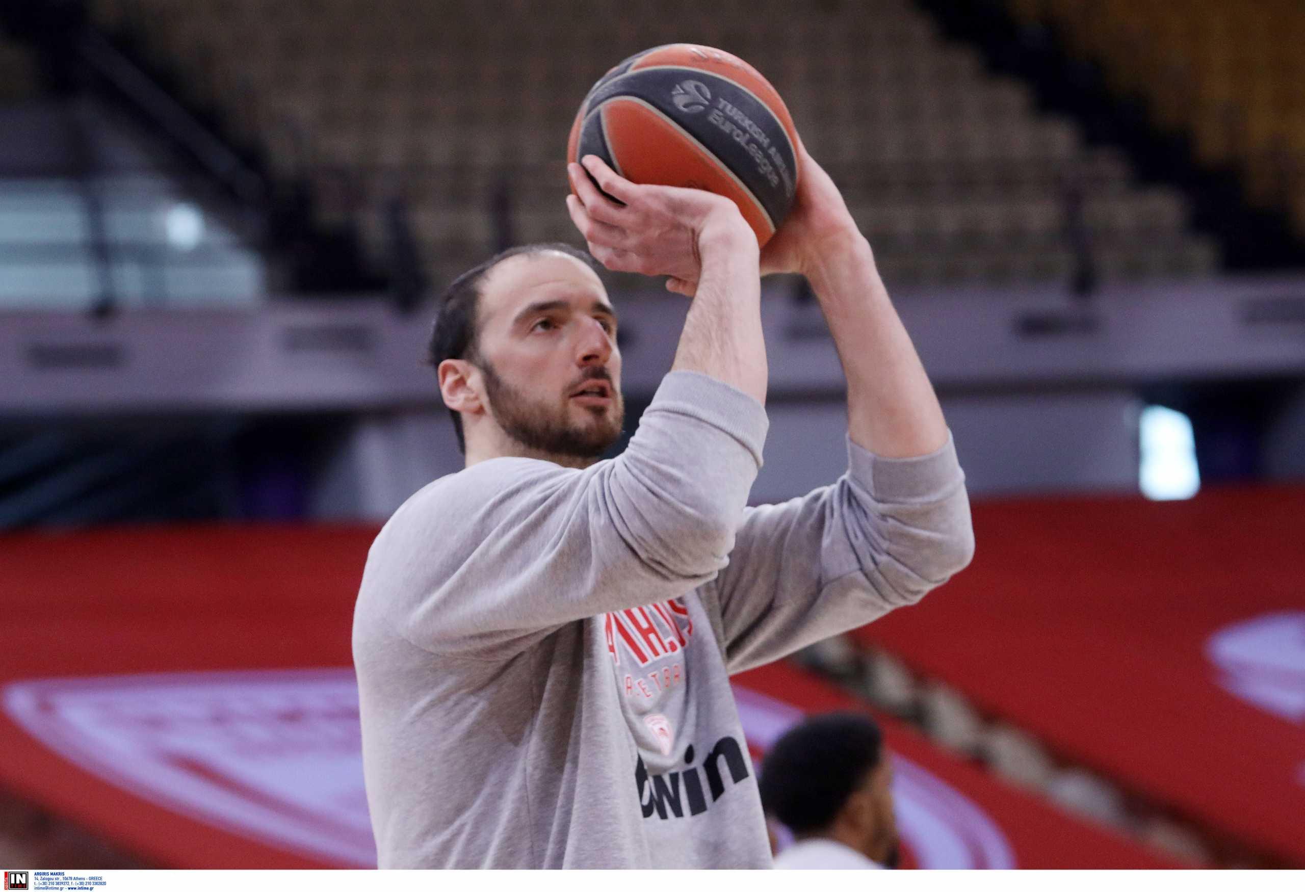 Ολυμπιακός: «Θα πιέσω τον εαυτό μου για να παίξω καλύτερα» δήλωσε ο Κουφός