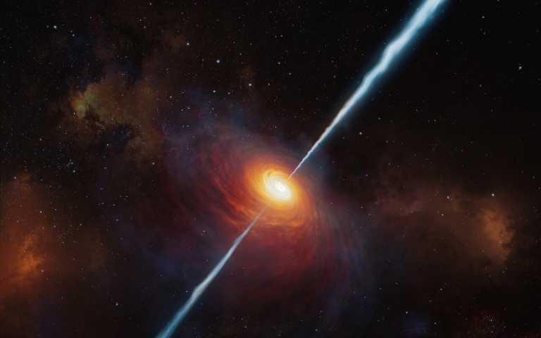 Ανακαλύφθηκε ο μακρινός «ραδιοφάρος» του σύμπαντος – Φωτεινό κβάζαρ σε απόσταση 13 δισ. έτη φωτός