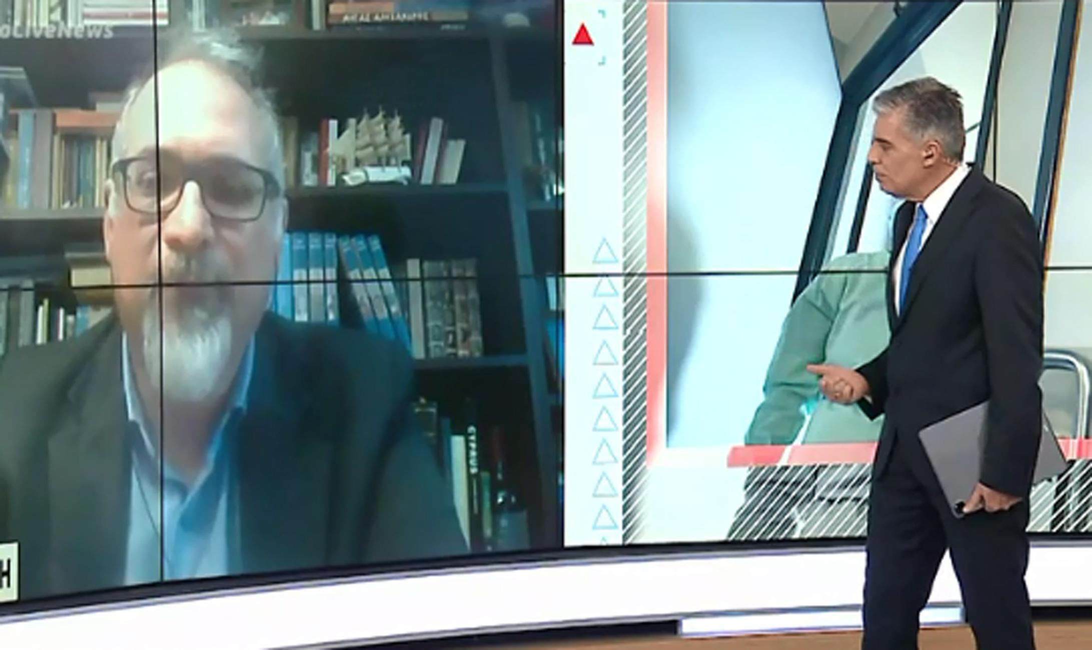 Θωμαϊδης σε Live News: Τα λύματα «δείχνουν» σταθερή διασπορά που δεν προβλέπεται να αποκλιμακωθεί γρήγορα