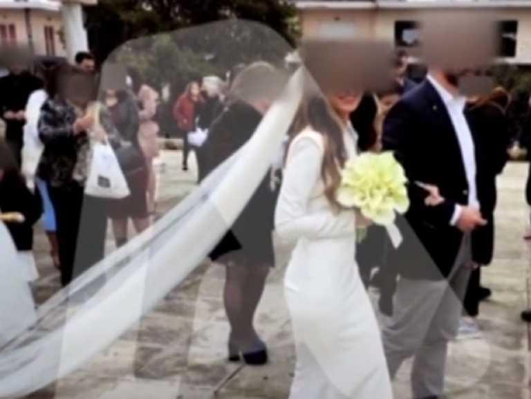 Μαλεσίνα: Οι πρώτες εικόνες από τον γάμο που έφερε έκρηξη κρουσμάτων – Αδιαφορία προκλητική από όλους (video)