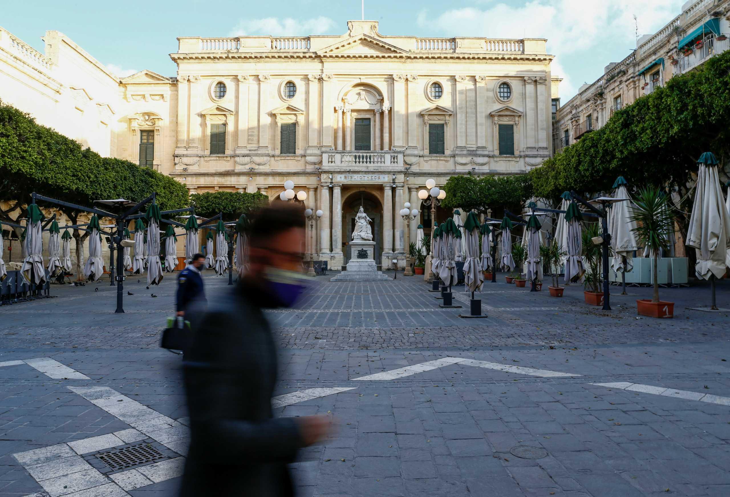 Η Μάλτα αυστηροποιεί τα μέτρα για τον κορονοϊό εν όψει Πάσχα
