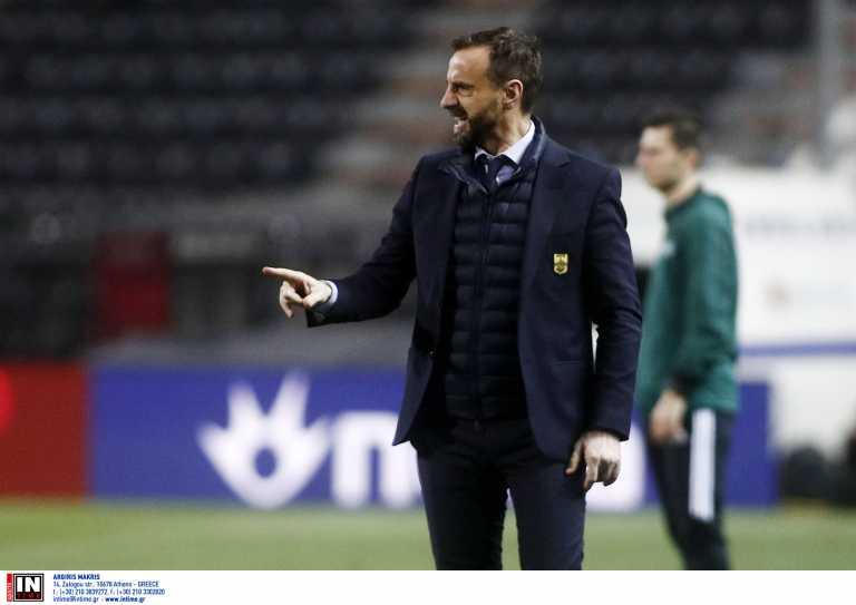 ΠΑΟΚ – Άρης: «Έπρεπε 3-0, φεύγουμε απογοητευμένοι» δήλωσε ο Μάντζιος