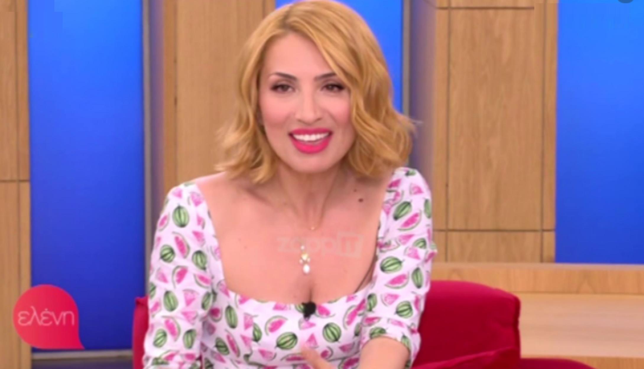 Η Μαρία Ηλιάκη στο MEGA