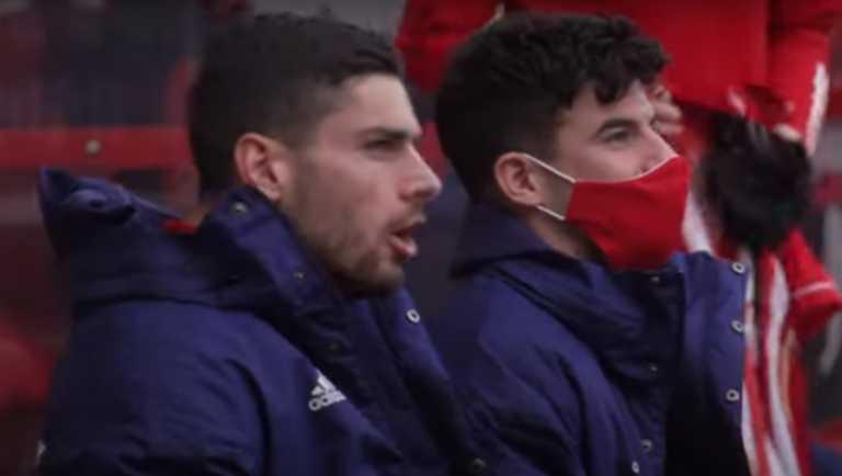Ολυμπιακός: «Πωρωμένος» ο Μασούρας φώναζε το όνομα της ομάδας (video)
