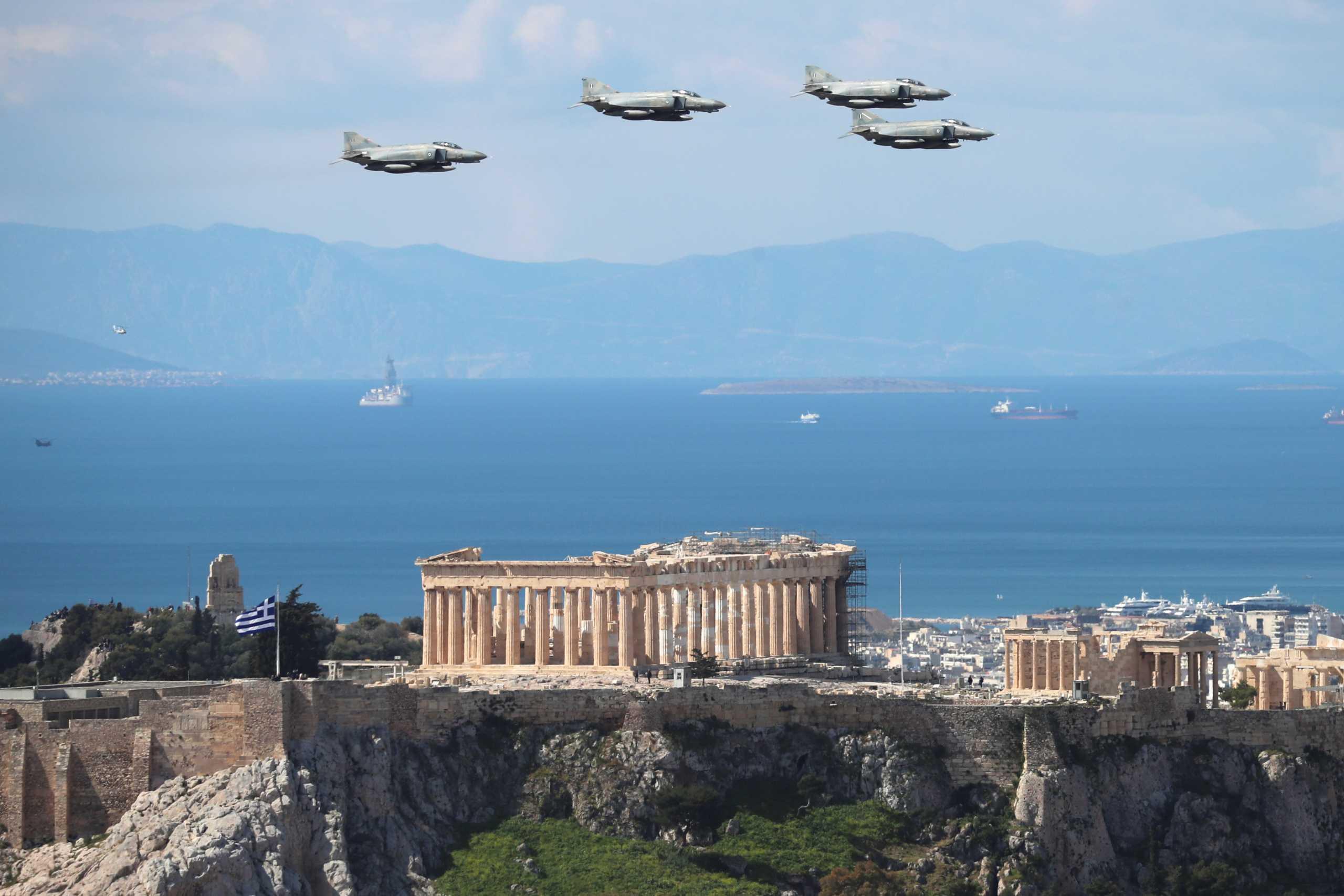 Γάλλος αστροναύτης τιμά την Ελλάδα με μία εκπληκτική εναέρια φωτογραφία