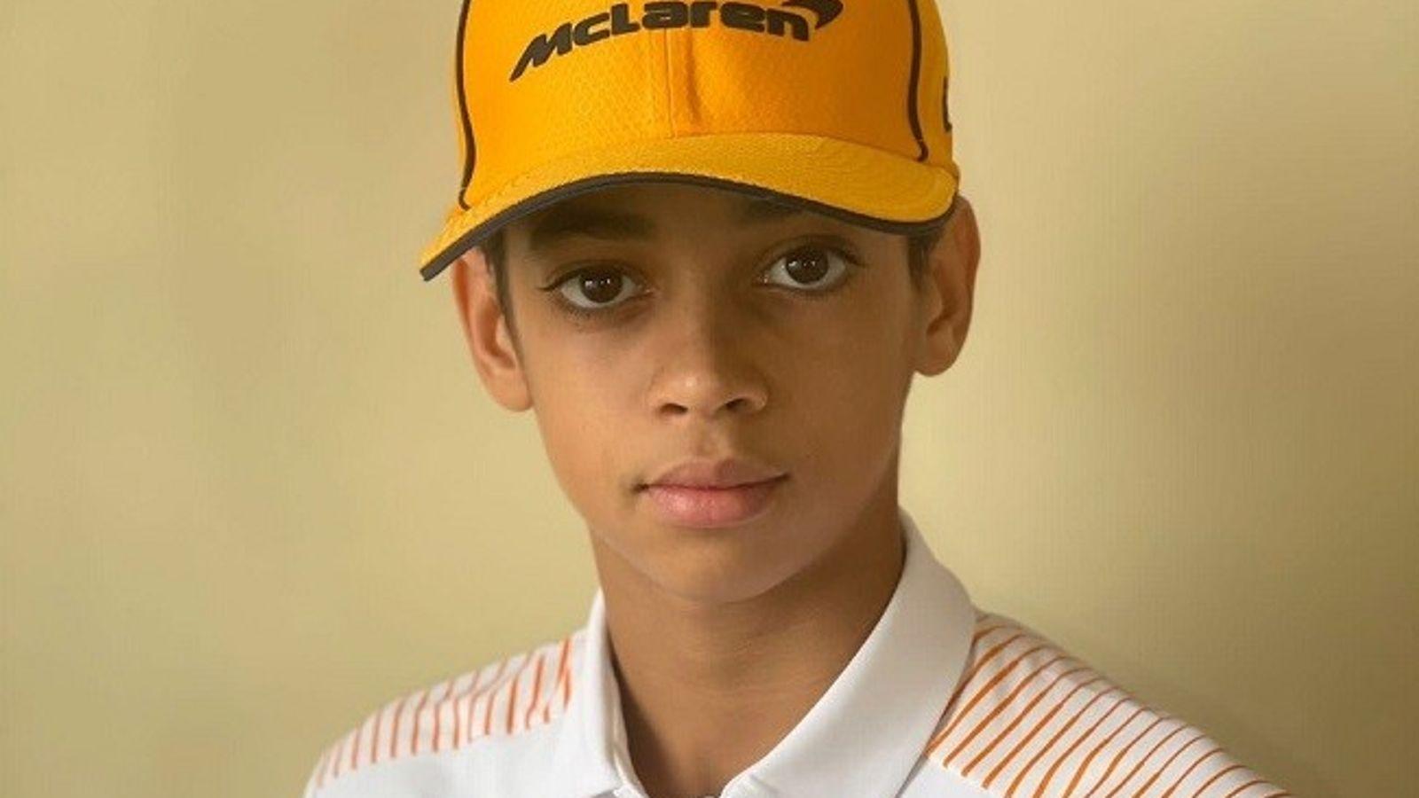 13χρονος υπέγραψε συμβόλαιο με ομάδα της Formula 1 (pics)