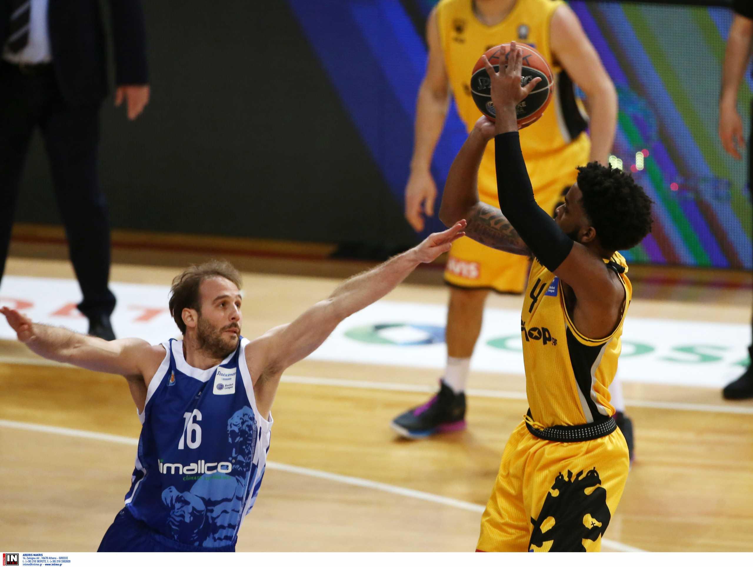 Basket League: Η ΑΕΚ «λύγισε» τον Ηρακλή με buzzer beater του Μέικον στην παράταση (video)
