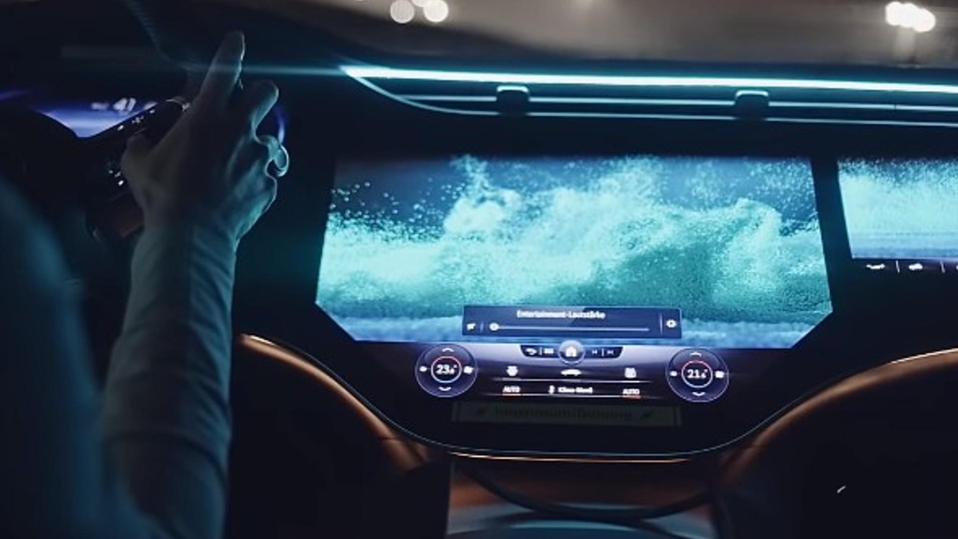 Το ταμπλό στη νέα Mercedes-Benz είναι μια τεράστια εντυπωσιακή οθόνη! [vid]
