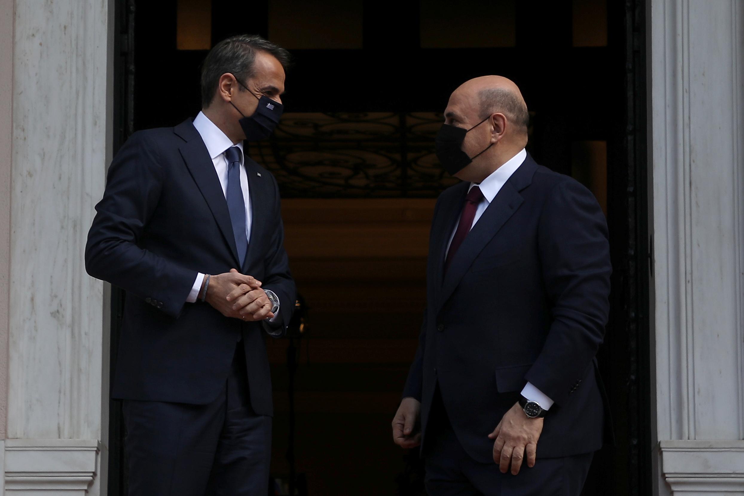 Στην Αθήνα ο Ρώσος πρωθυπουργός Μιχαήλ Μισούστιν