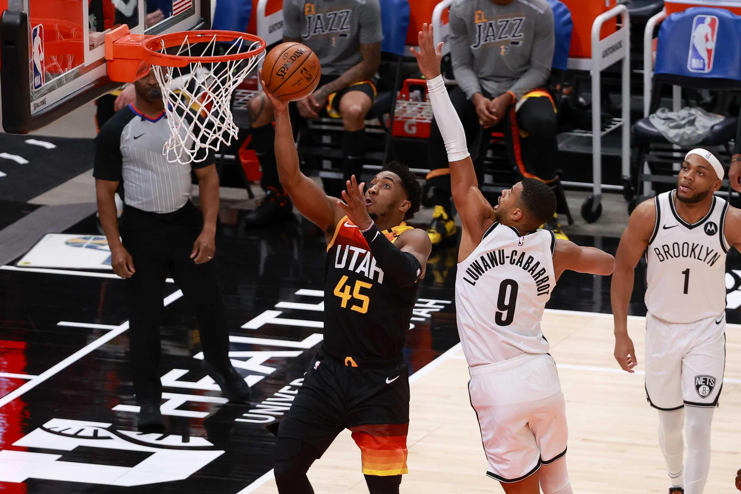 Οι Τζαζ «διέλυσαν» τους ελλιπείς Νετς και «ανέβασαν» τους Μπακς – Τα αποτελέσματα στο NBA (videos)