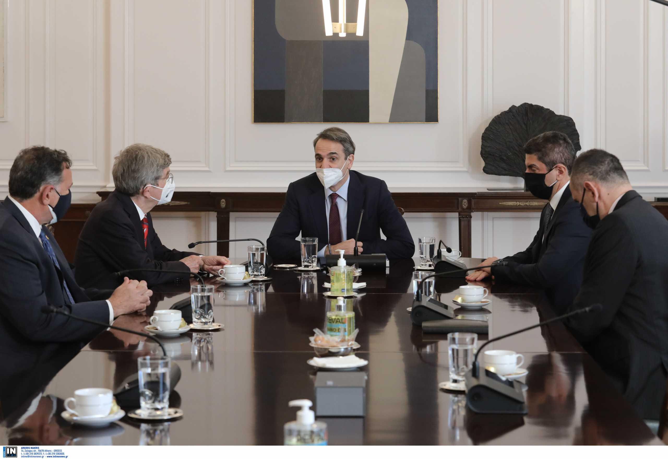 Η συνάντηση Μητσοτάκη με Μπαχ και τα συγχαρητήρια στην Ελλάδα