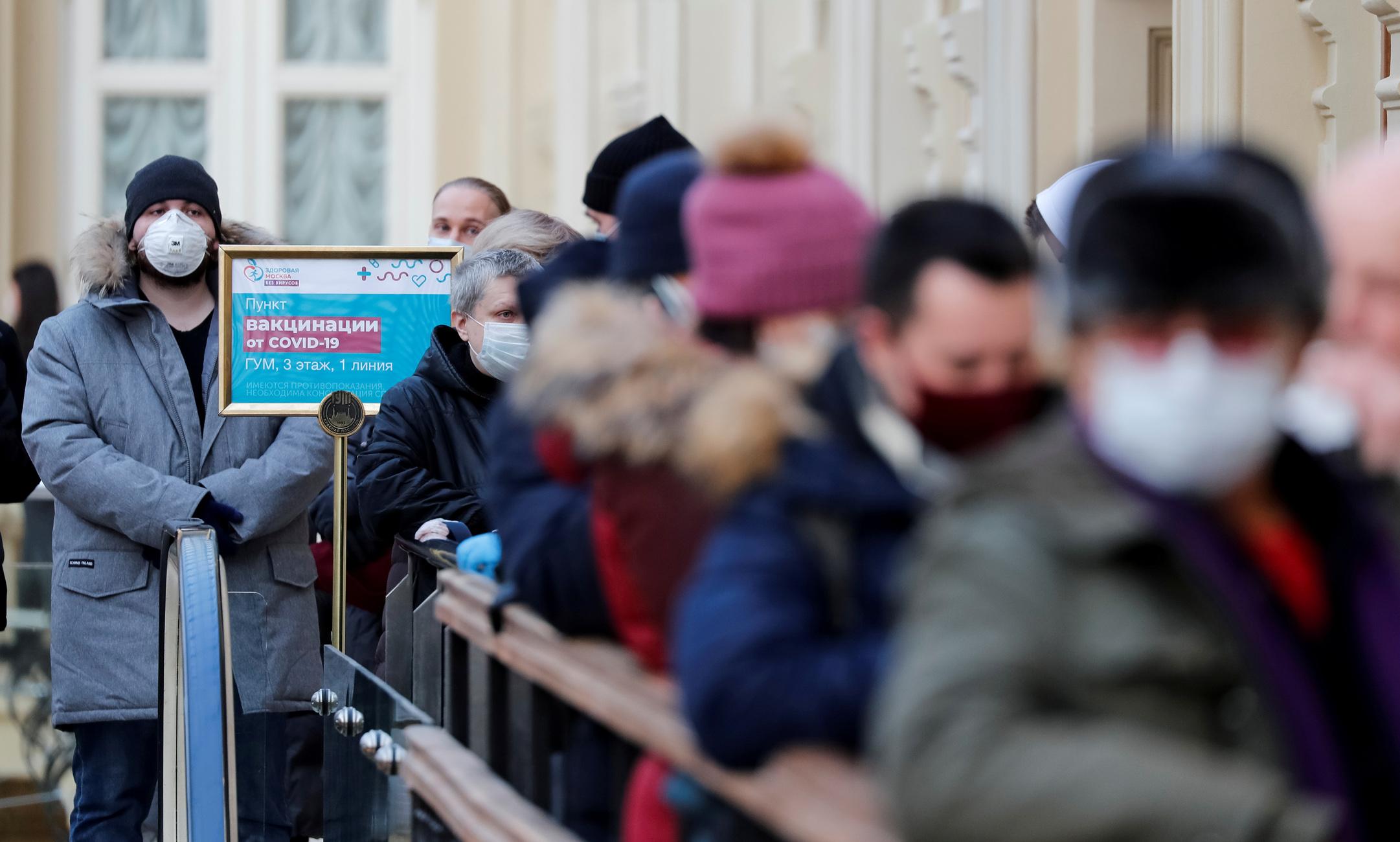 Ρωσία: 361 νεκροί και πάνω από 9.200 νέα κρούσματα σε ένα 24ωρο