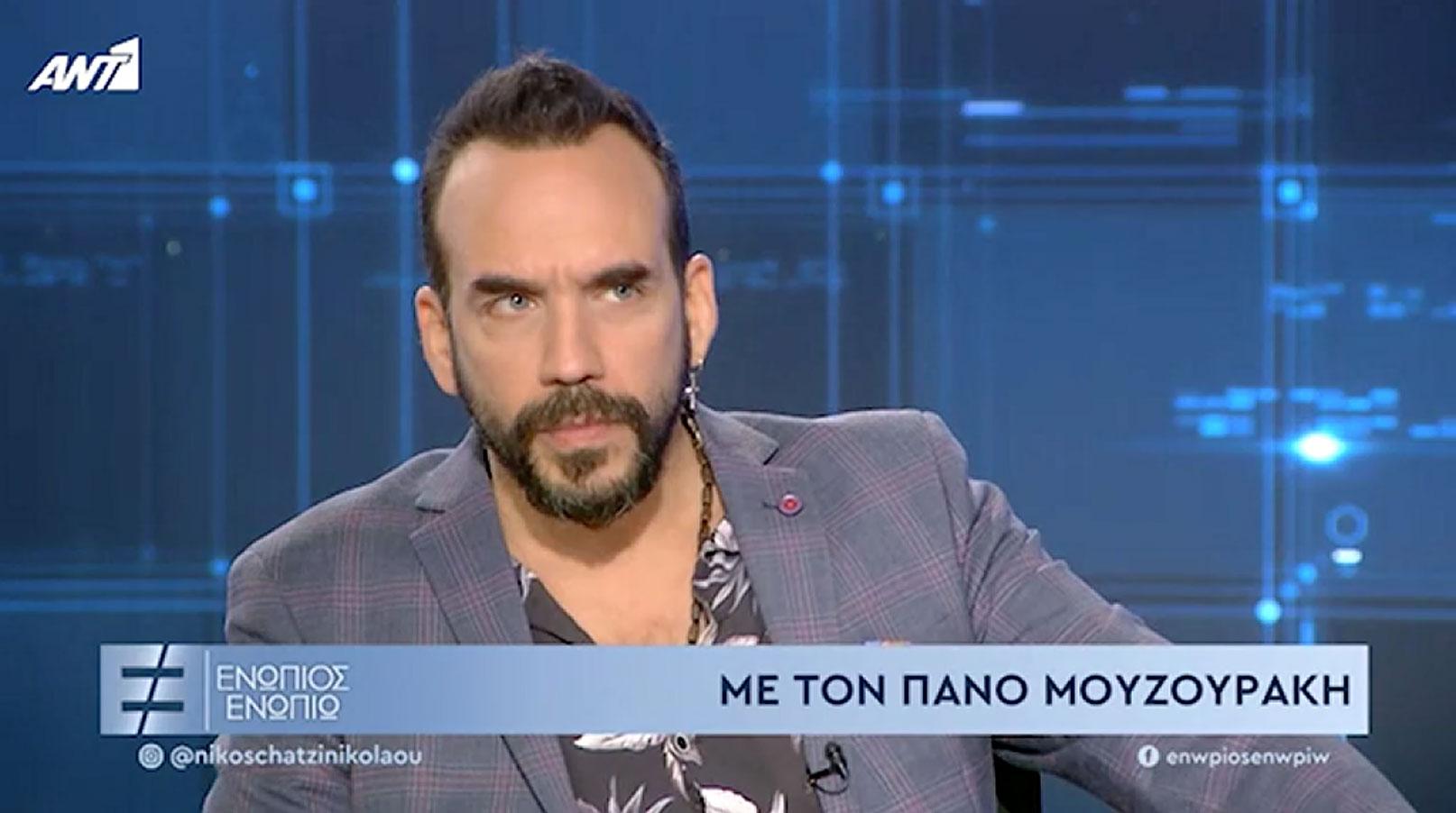 Πάνος Μουζουράκης: «Με έβαλε σε ένα αμάξι και με πήγε σε ένα δάσος»