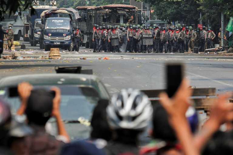 Μιανμάρ: Εννέα νεκροί διαδηλωτές από τα πυρά των αστυνομικών