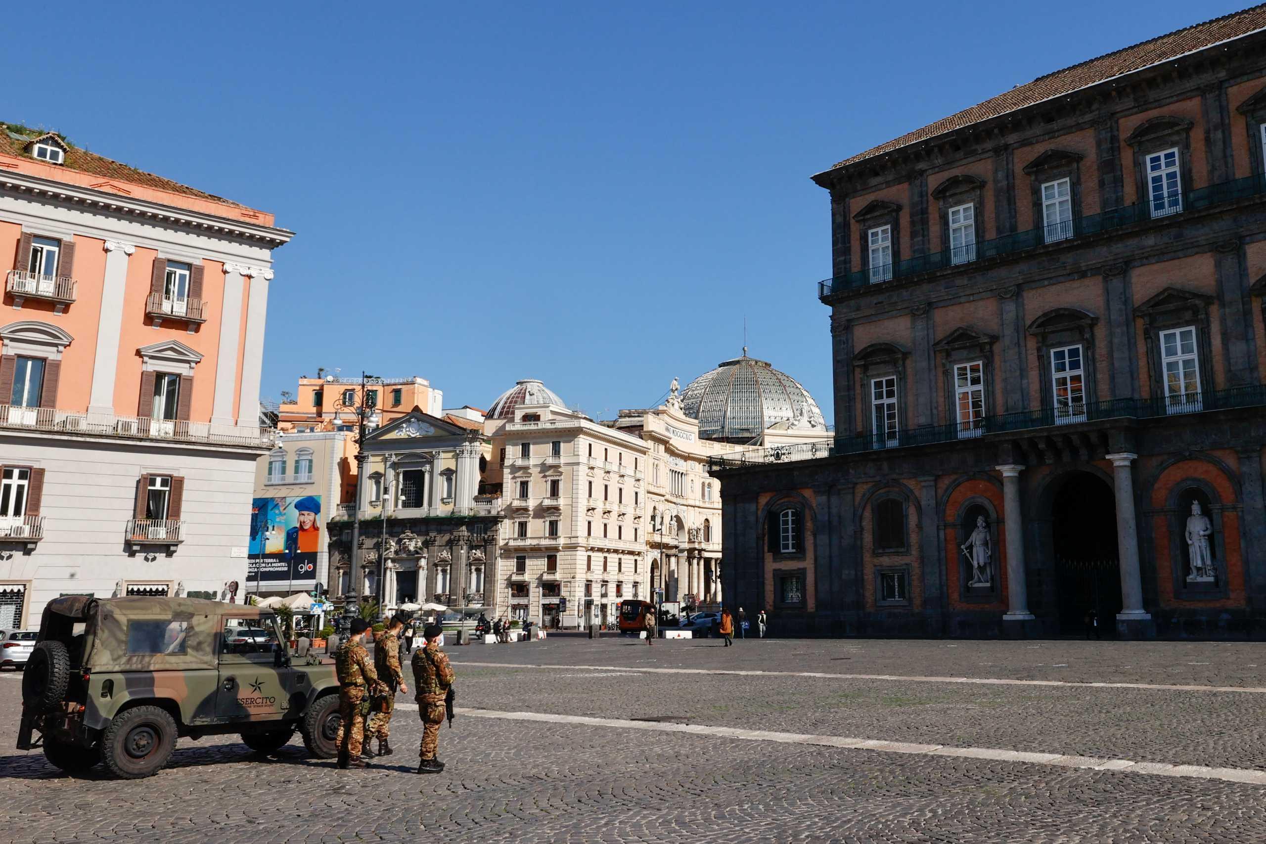 Ιταλία: 386 νεκροί και πάνω από 13.800 νέα κρούσματα