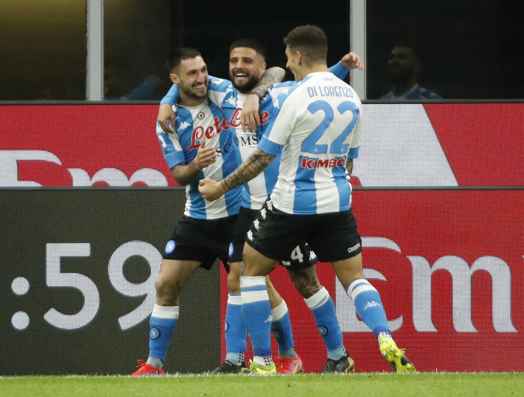 Serie A: Η Νάπολι έριξε «τάλιρο» στην Λάτσιο και έμεινε στο «κόλπο» του Champions League