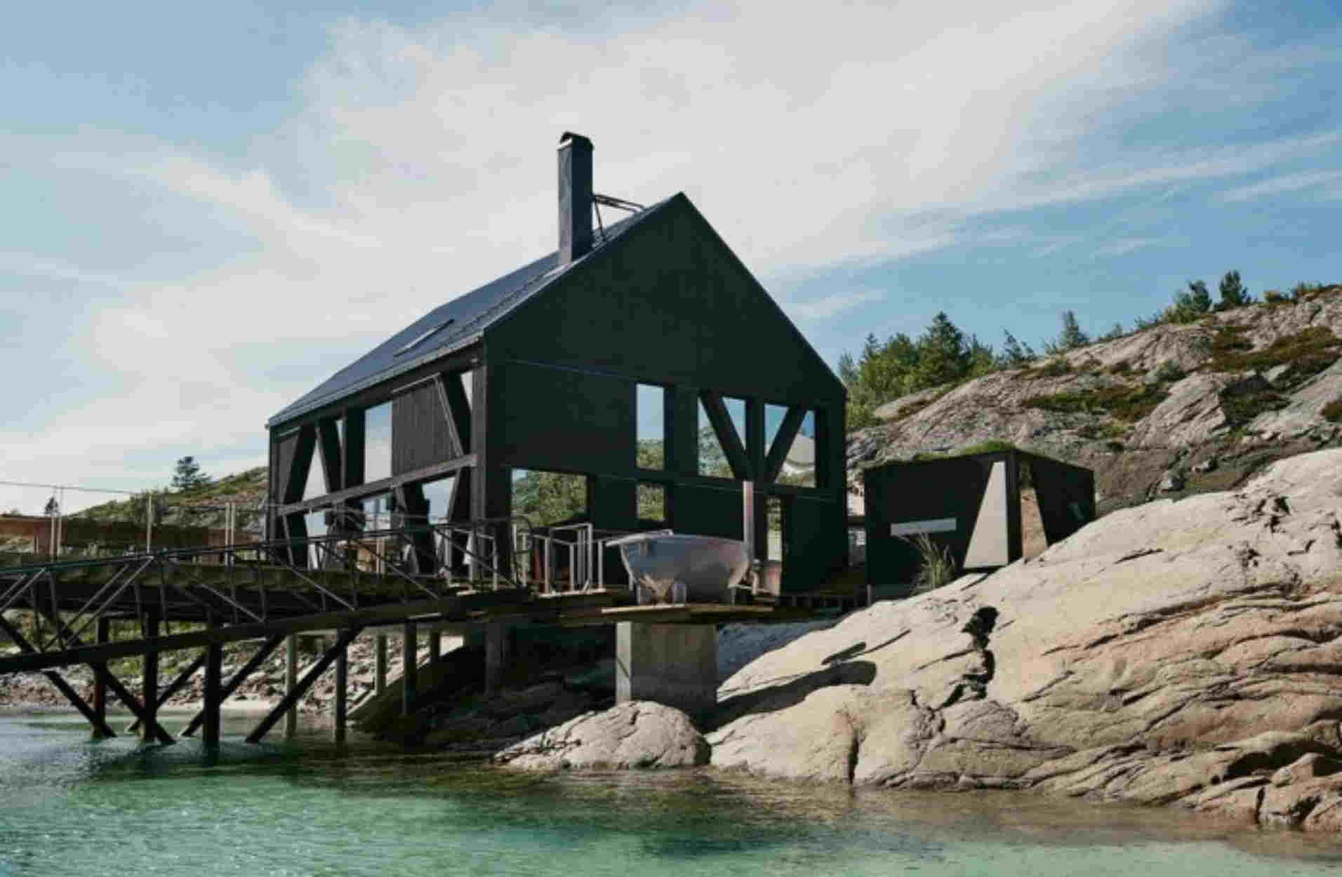 Ένα καταφύγιο στην Νορβηγία για όσους θέλουν να ζήσουν μια μοναδική εμπειρία!
