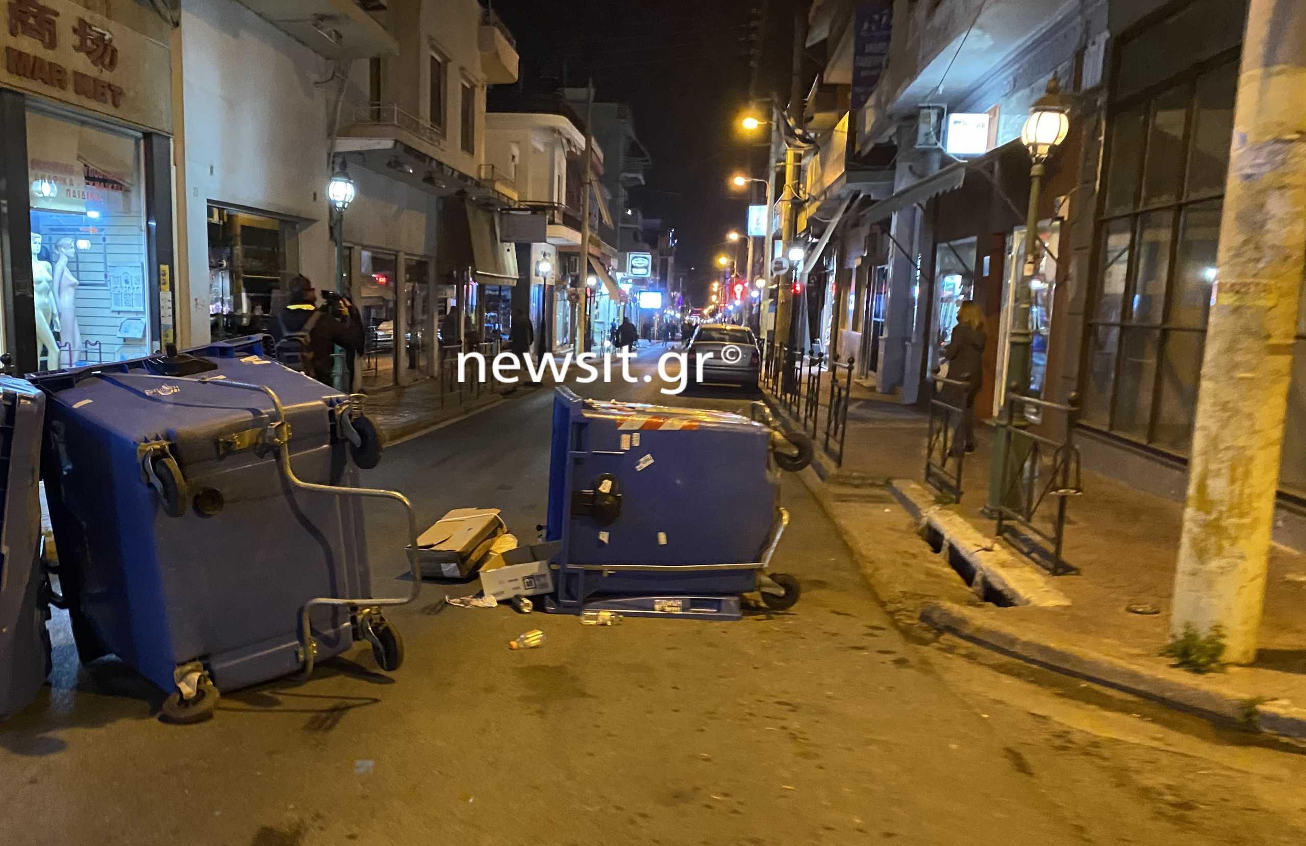 Επεισόδια στη Νίκαια σε συγκέντρωση κατά της αστυνομικής βίας