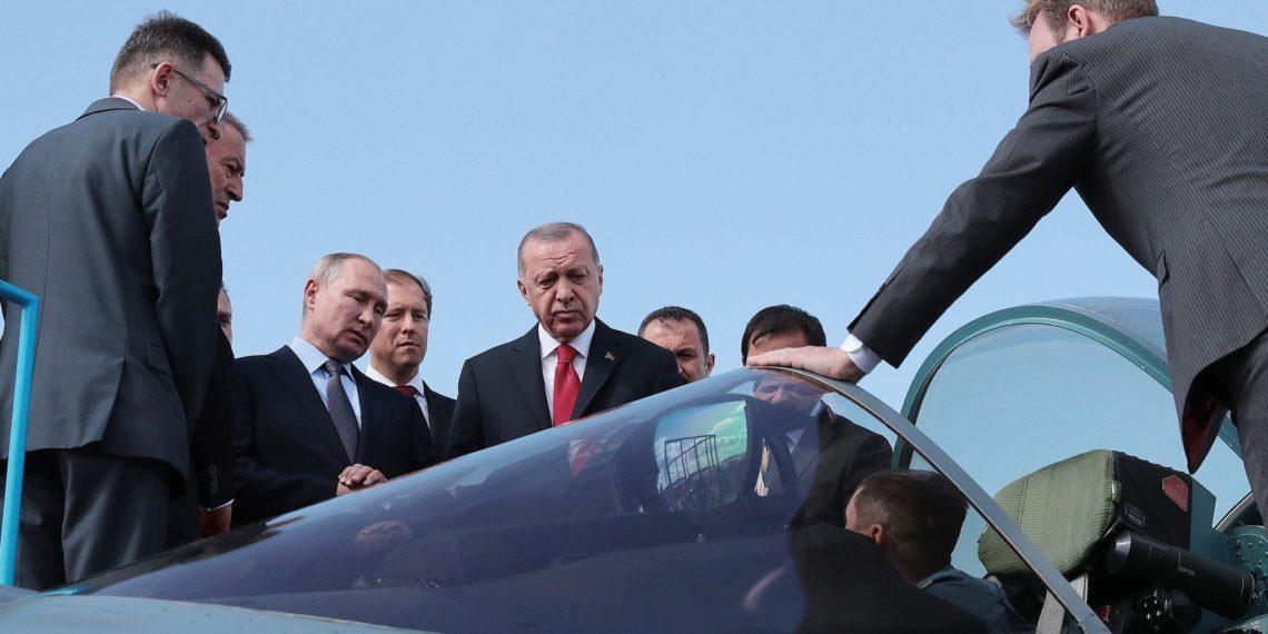 «Βόμβα» από Ρωσία: Είμαστε έτοιμοι να συνεργαστούμε με την Τουρκία για μαχητικά Su-57 και Su-35