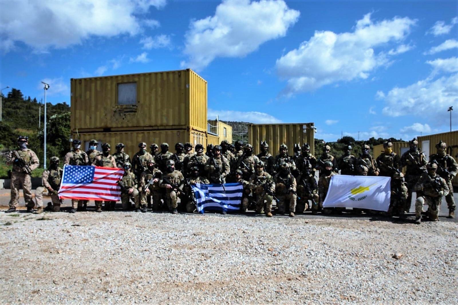ΓΕΕΘΑ: Συνεκπαίδευση Ελλήνων κομάντο με δυνάμεις της Κύπρου και των ΗΠΑ