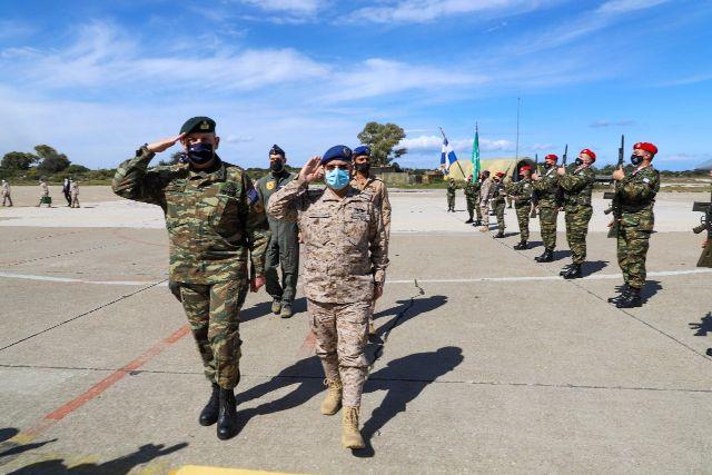 Συνάντηση Αρχηγού Ενόπλων Δυνάμεων Σαουδικής Αραβίας με Στρατηγό Φλώρο στην 115 Πτέρυγα Μάχης [pics,vid]